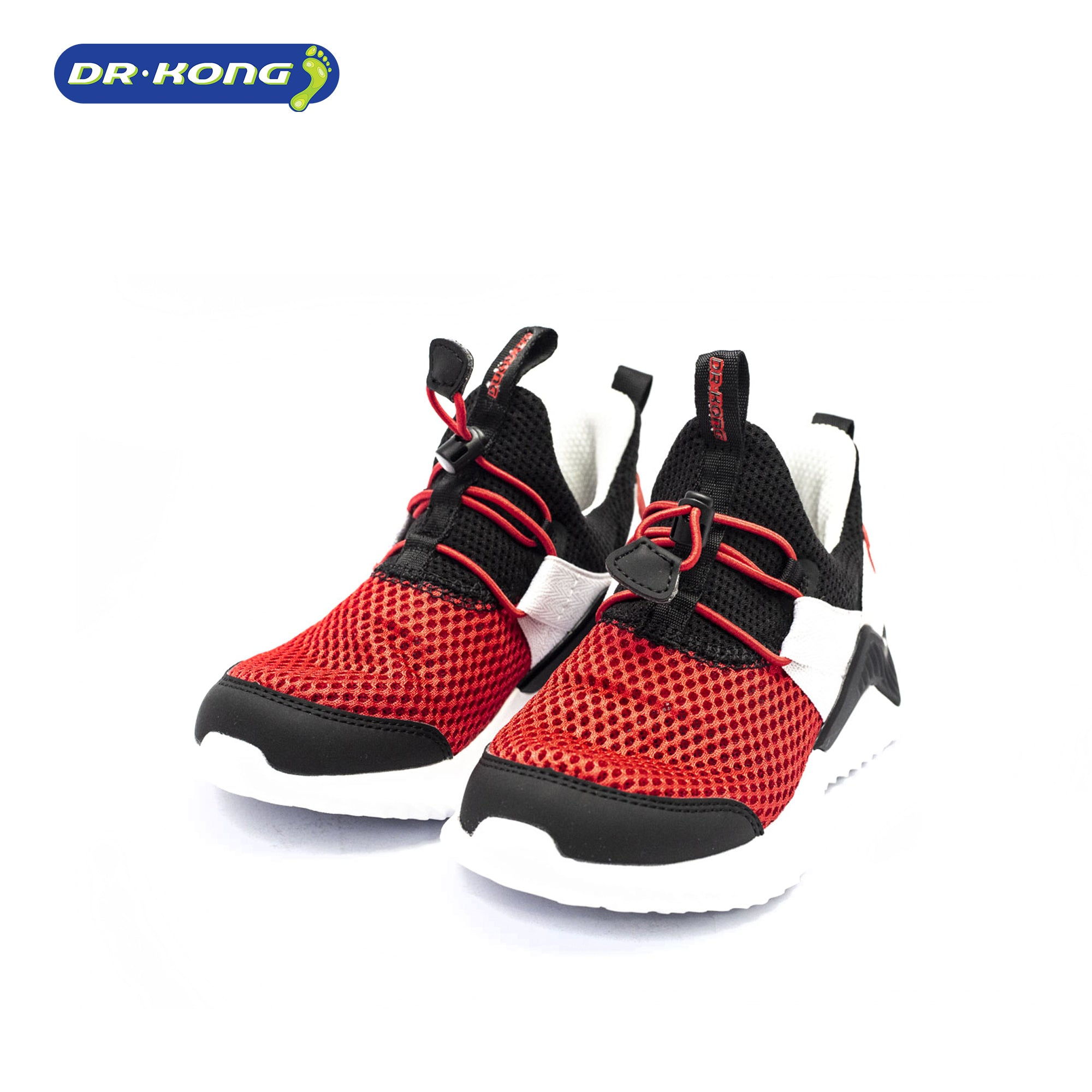 Dr. Kong Healthy Childrens Sneakers (Black Red) C1000331