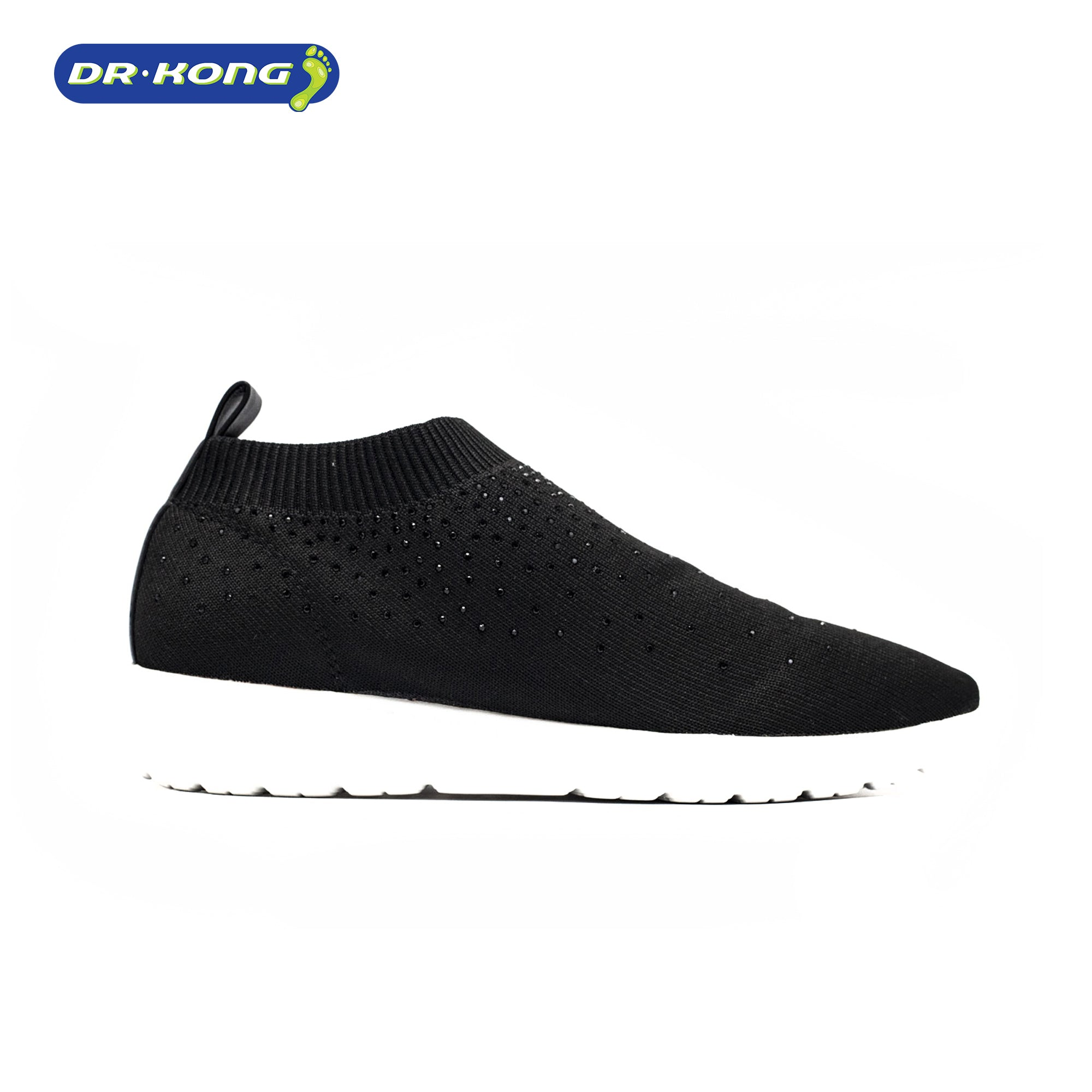 Dr. Kong Orthoknit Womens Sneakers (Black) W5000615