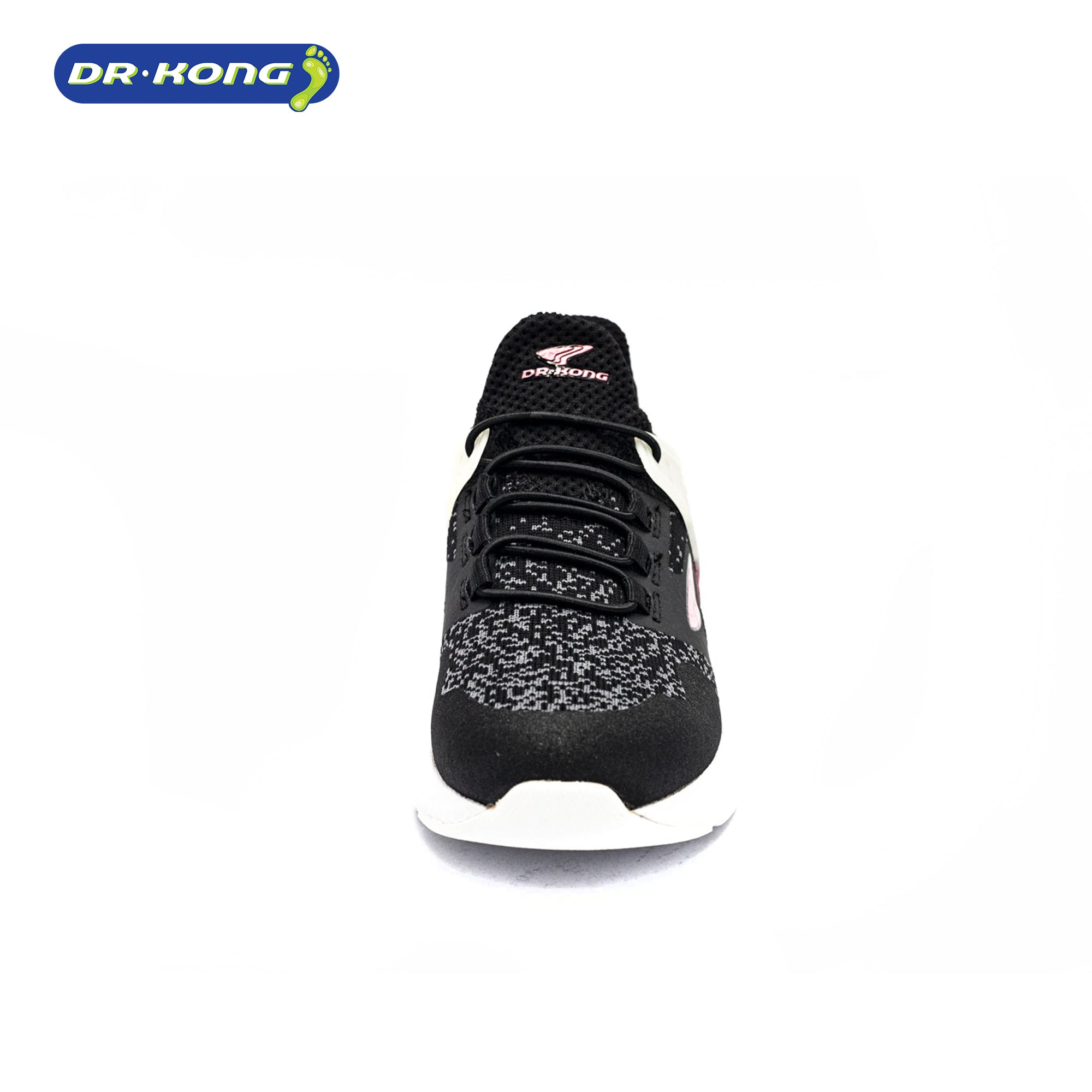 Dr. Kong Healthy Childrens Sneakers (Black Pink) c1000192
