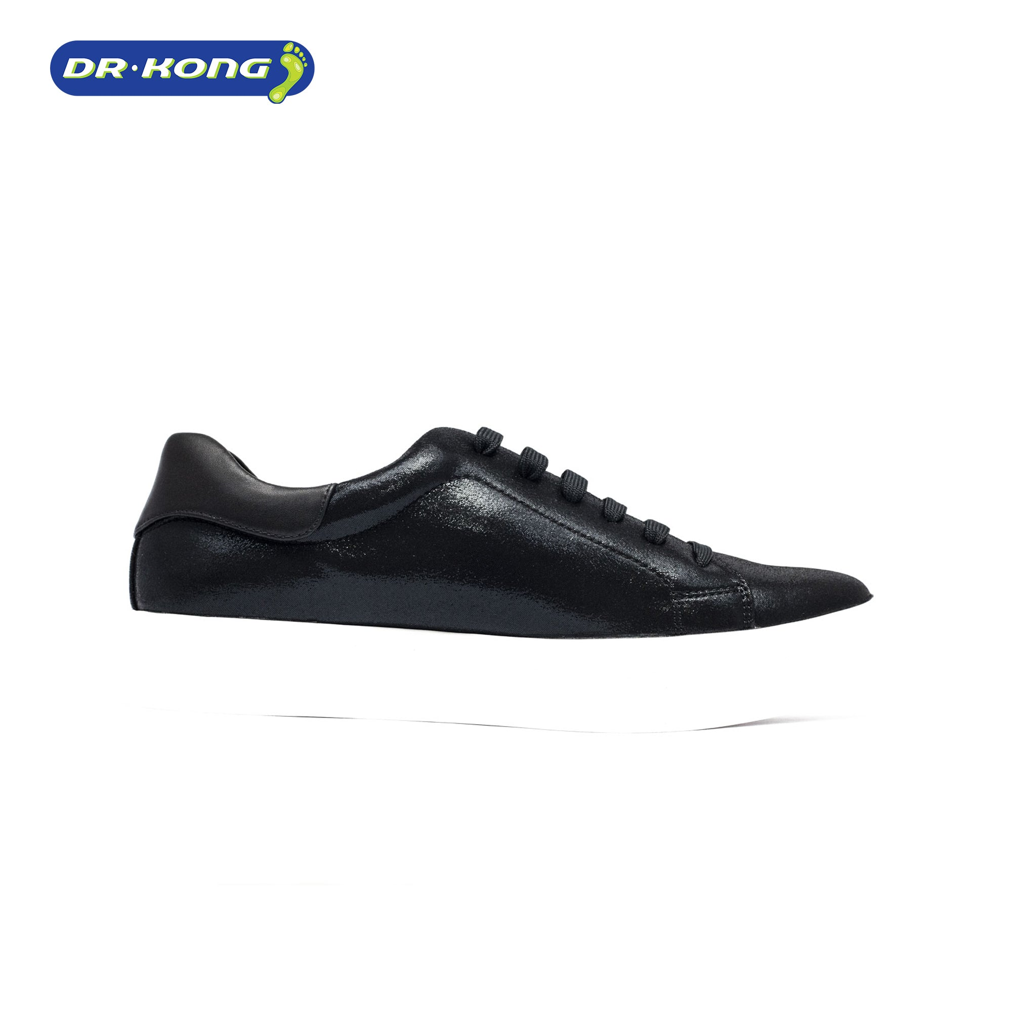 Dr. Kong Healthy Womens Sneakers (Black) W5000407