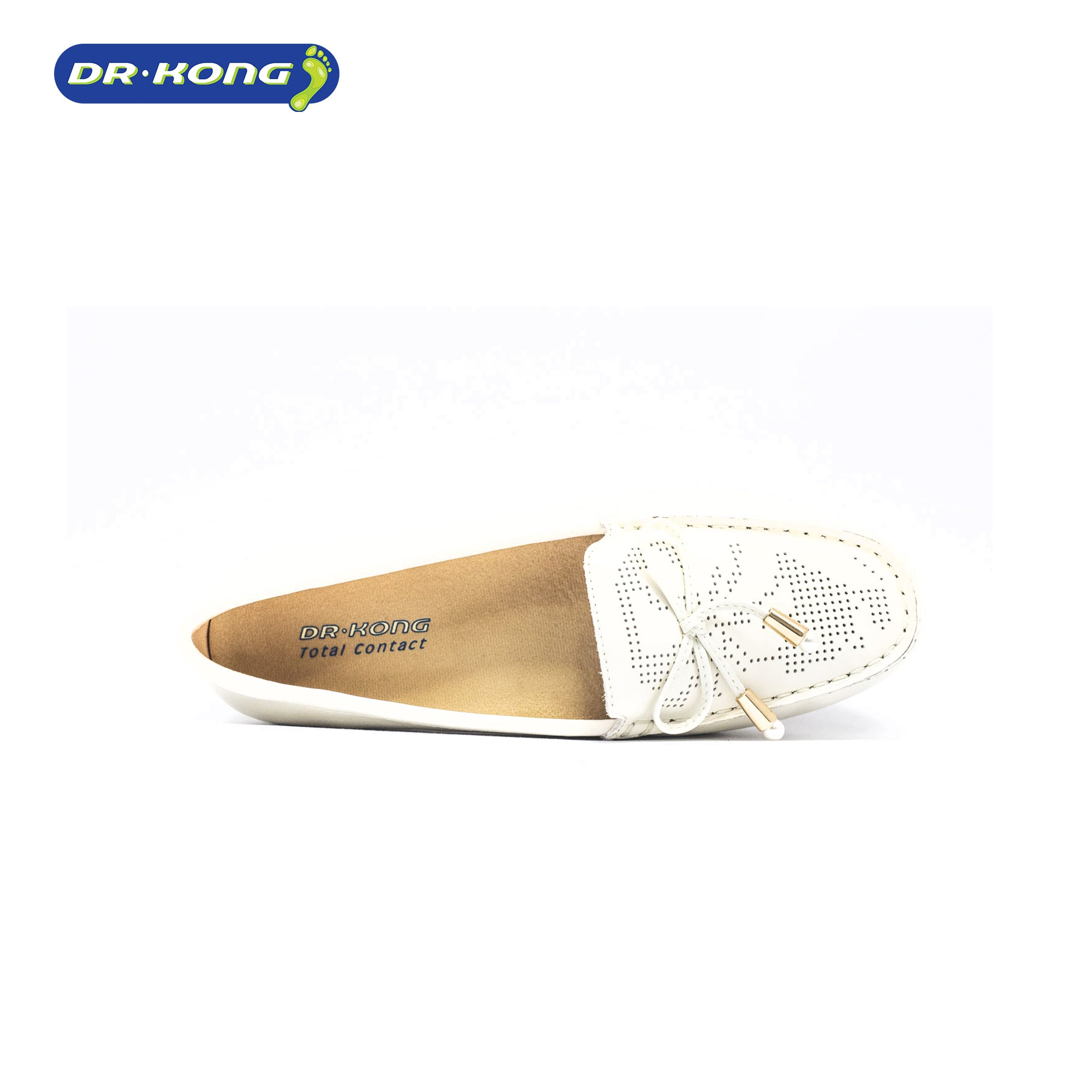 Dr. Kong Healthy Womens Loafers (Beige) W1001073