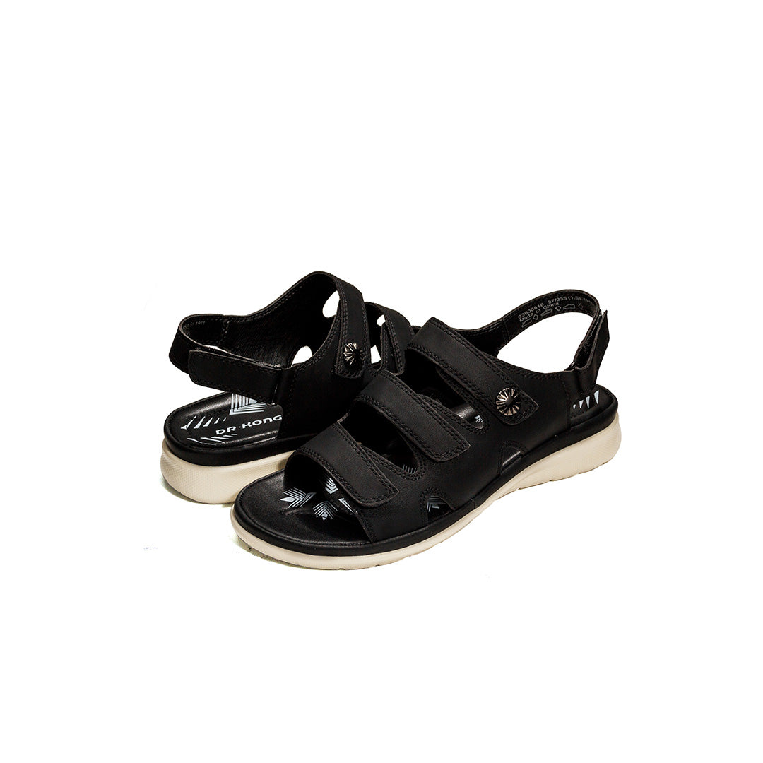 Dr. Kong Adjustable Strap Sandals (Black) S3000818