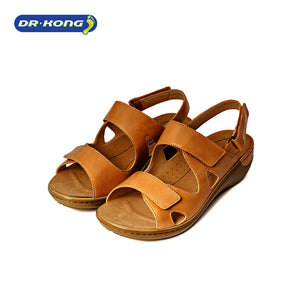 Open image in slideshow, Dr. Kong Healthy Sandals Wide Series (Beige) S8000212