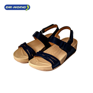 Open image in slideshow, Dr. Kong Healthy Sandals with Strap (Blue) S3001022