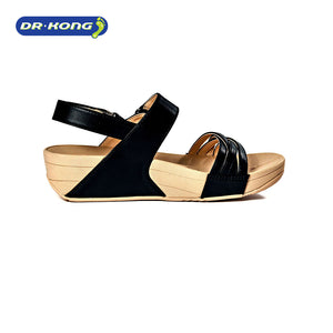 Dr. Kong Healthy Sandals with Strap (Black) S3001033