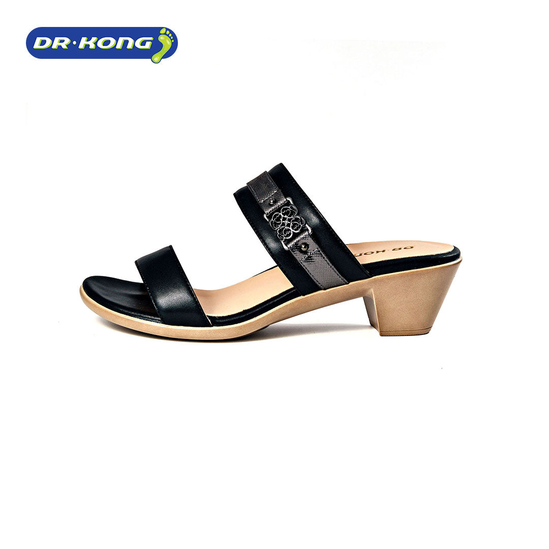 Dr. Kong Healthy Sandals for Women (Black) S3001010