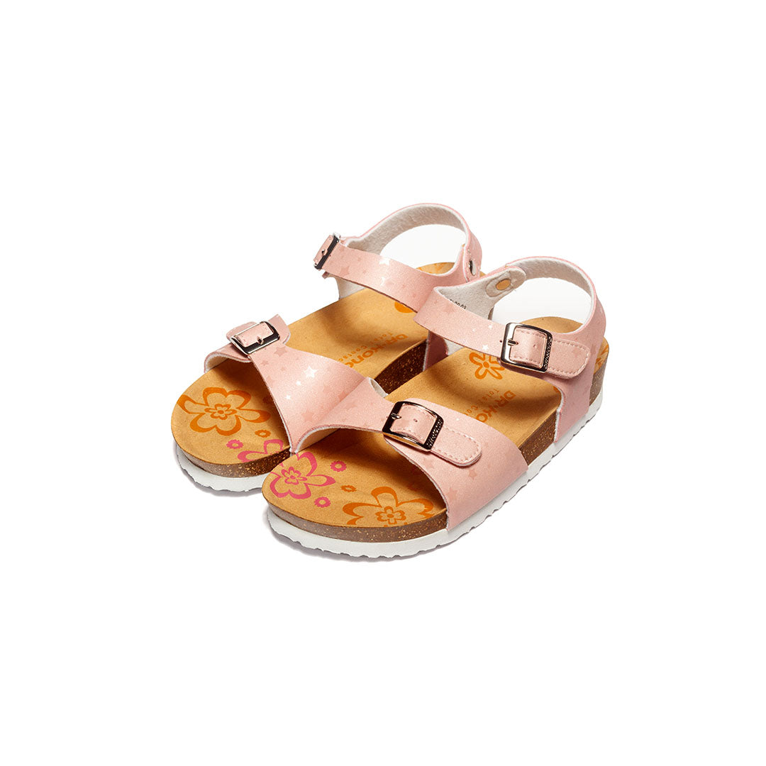 Dr. Kong Healthy Kids Sandals with strap (Pink) S2900043
