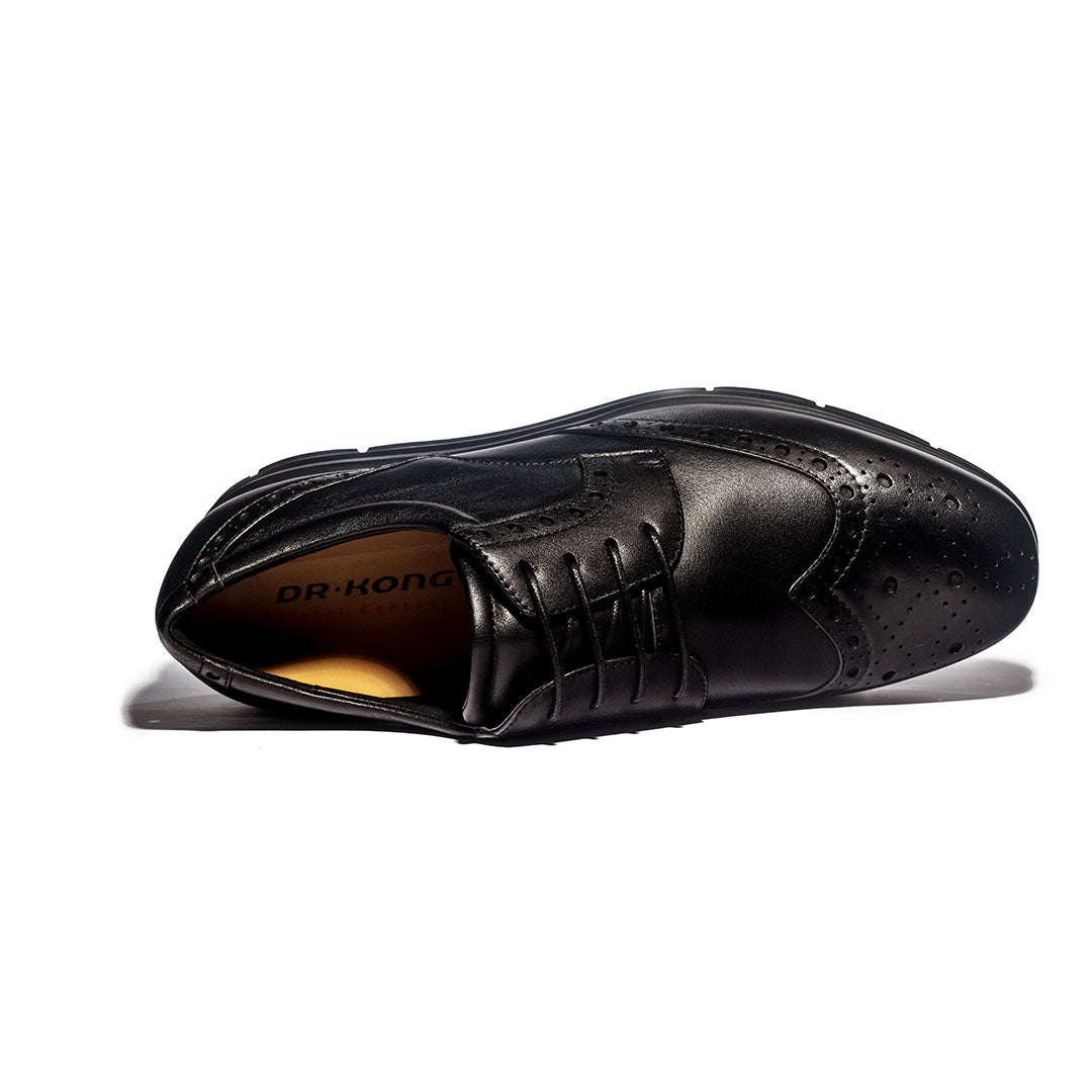Dr. Kong Healthy Leather Shoes (Blk) M6000029