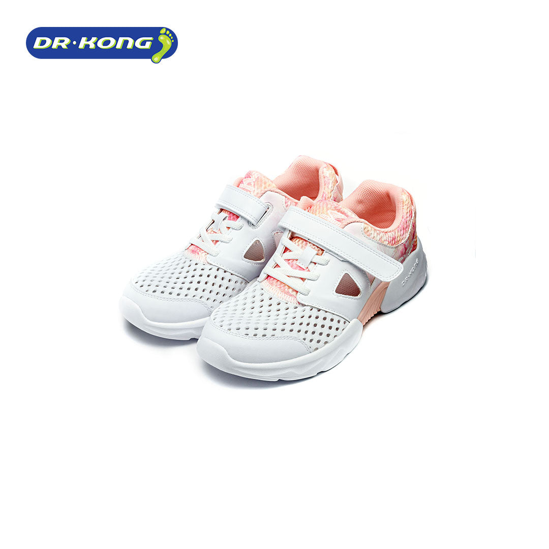 Dr. Kong Healthy Kids Sneakers (White Pink) C1000735