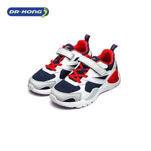 Open image in slideshow, Dr. Kong Healthy Kids Sneakers (White Black) C1000728