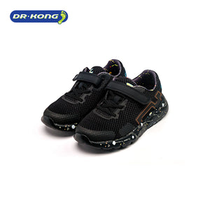 Open image in slideshow, Dr. Kong Healthy Orthoknit Kids Sneakers (Black) C1000697