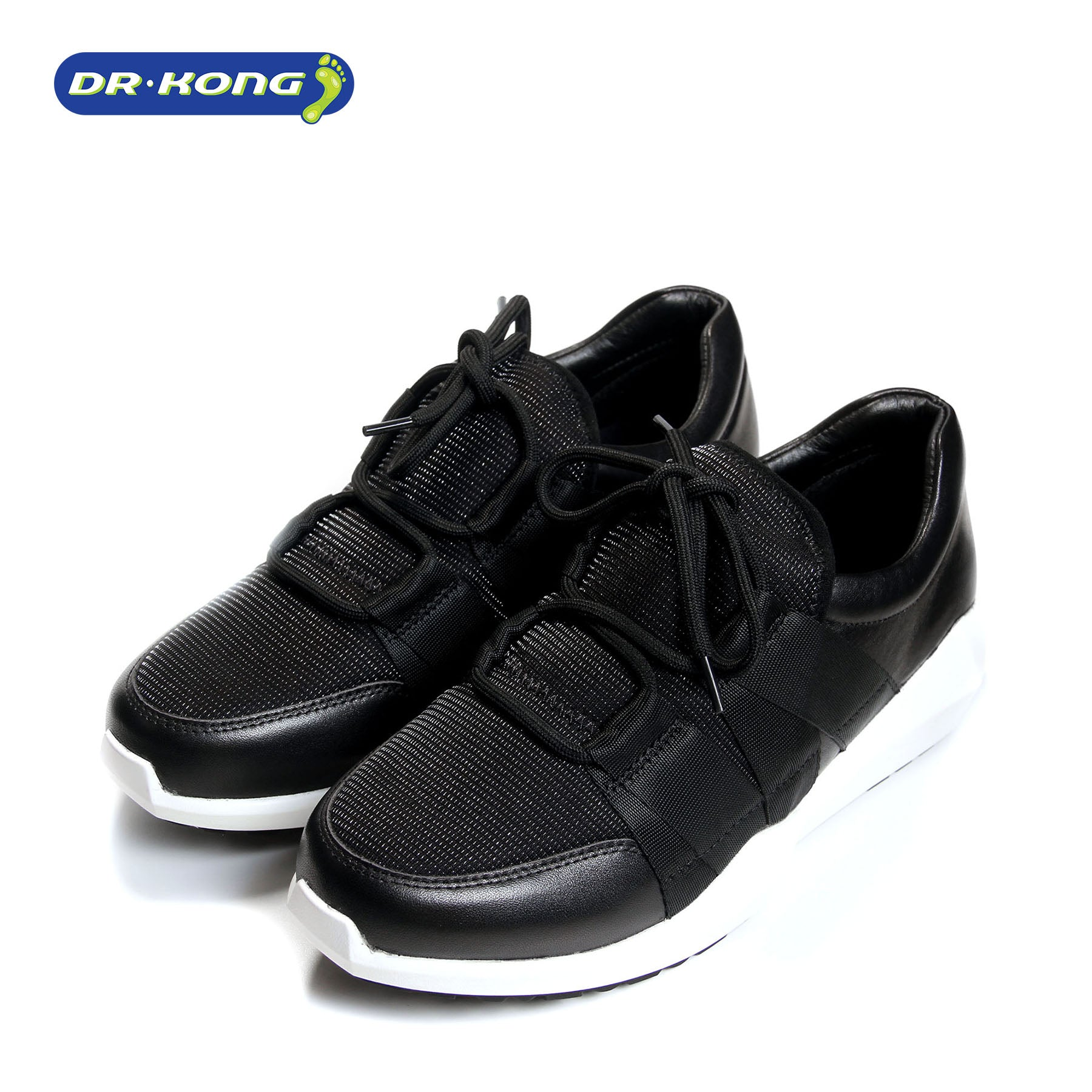 Dr. Kong Healthy Women Sneakers (Black) W5001041