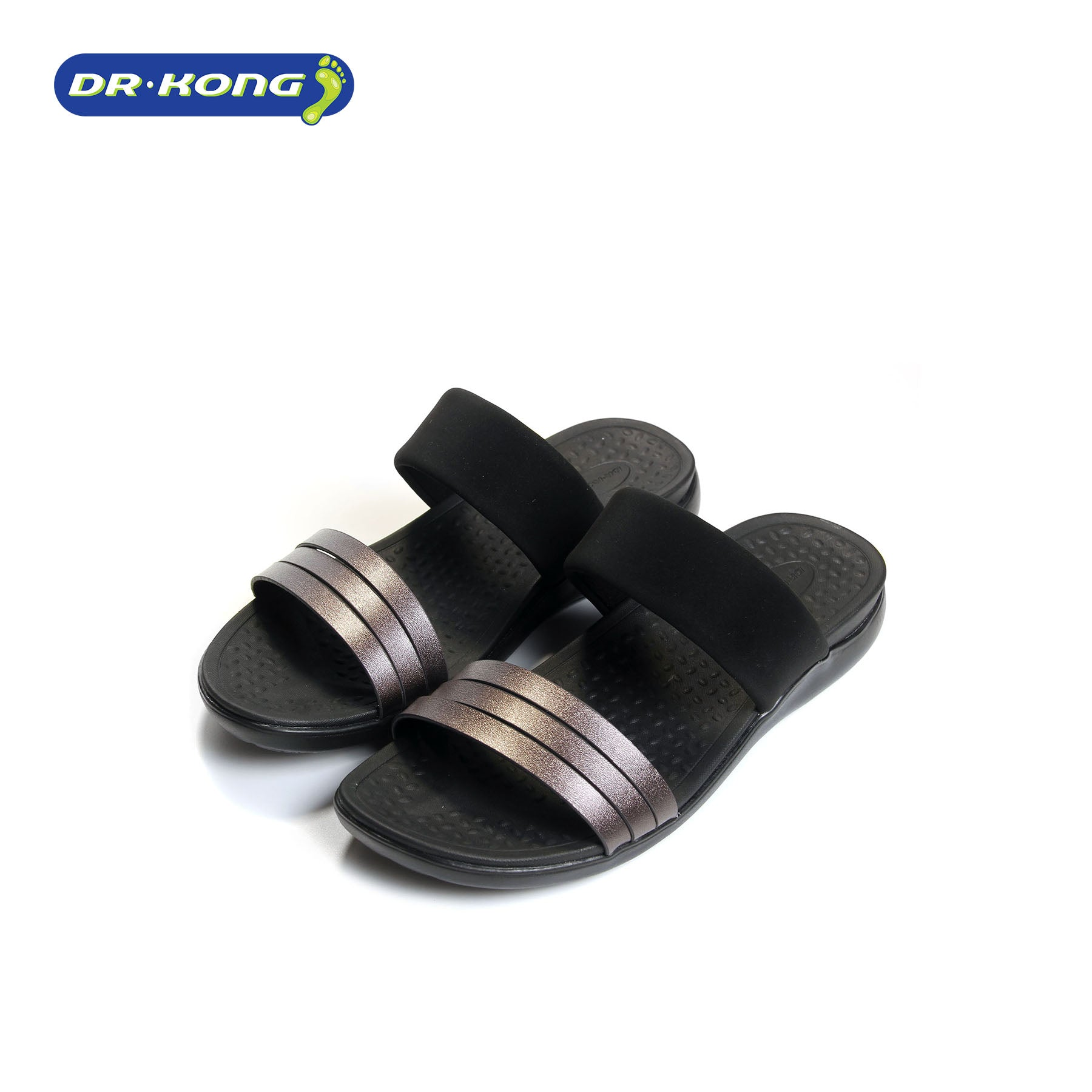 Dr. Kong Lightweight Sandals (Black) S3001101