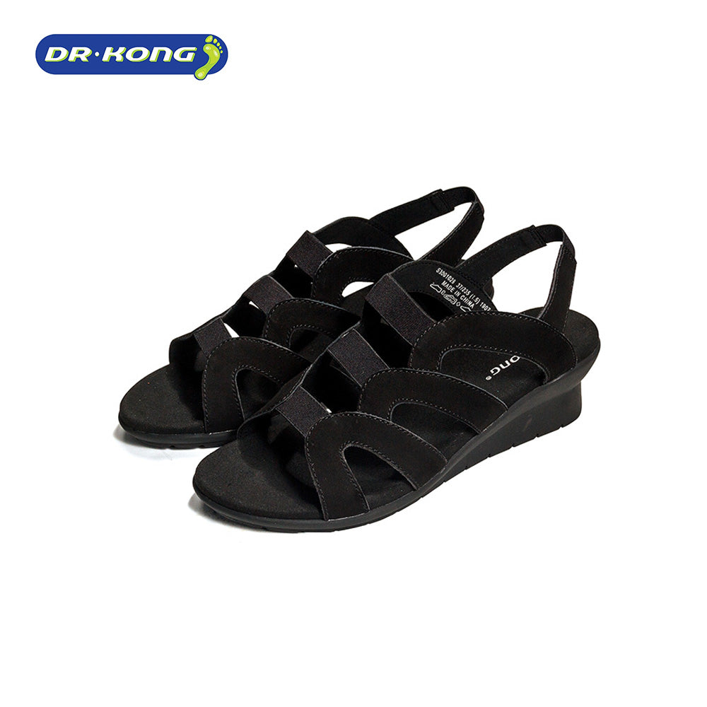 Dr. Kong Healthy Wedge Sandals (Black) S3001028