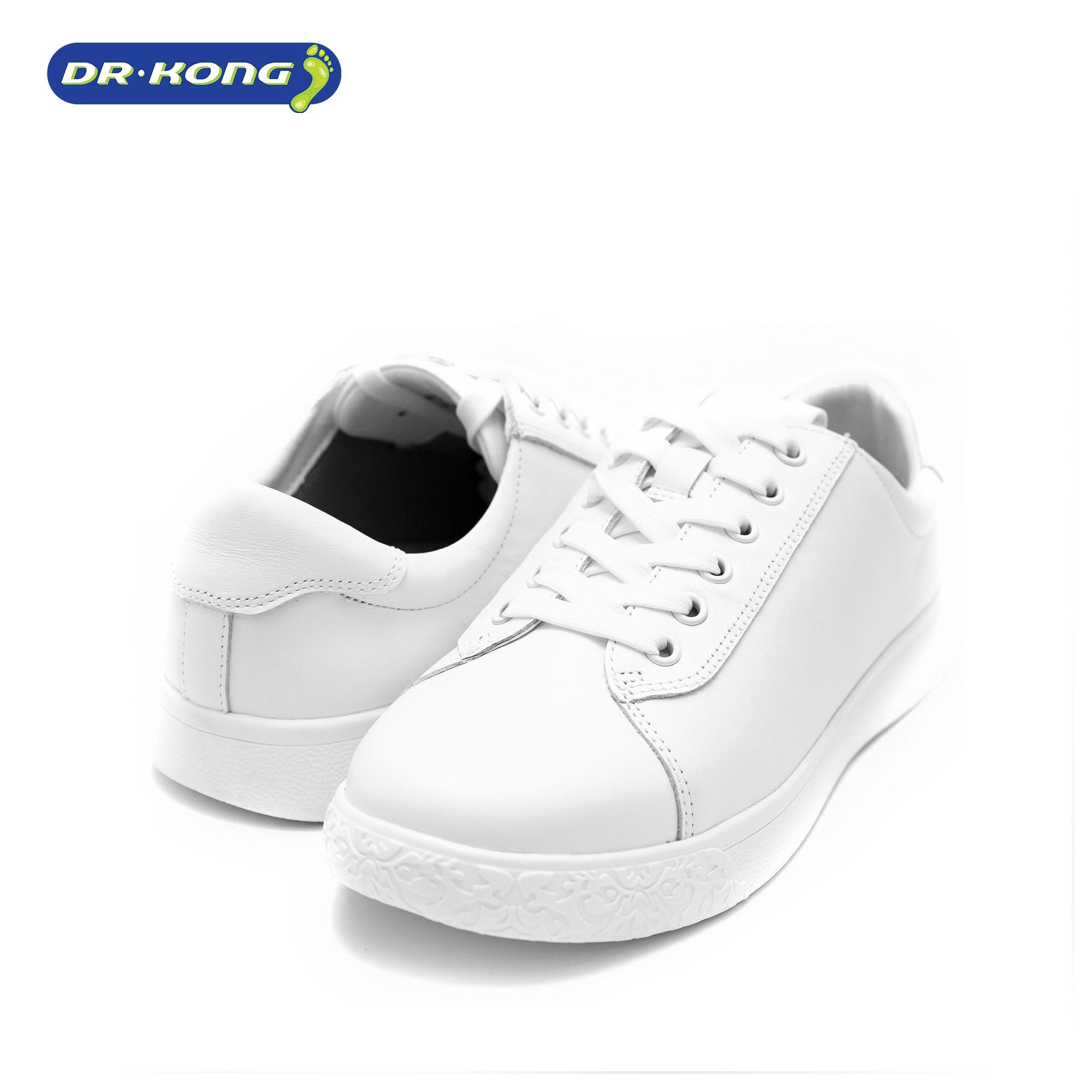 Dr. Kong Womens All White Sneakers w5000284