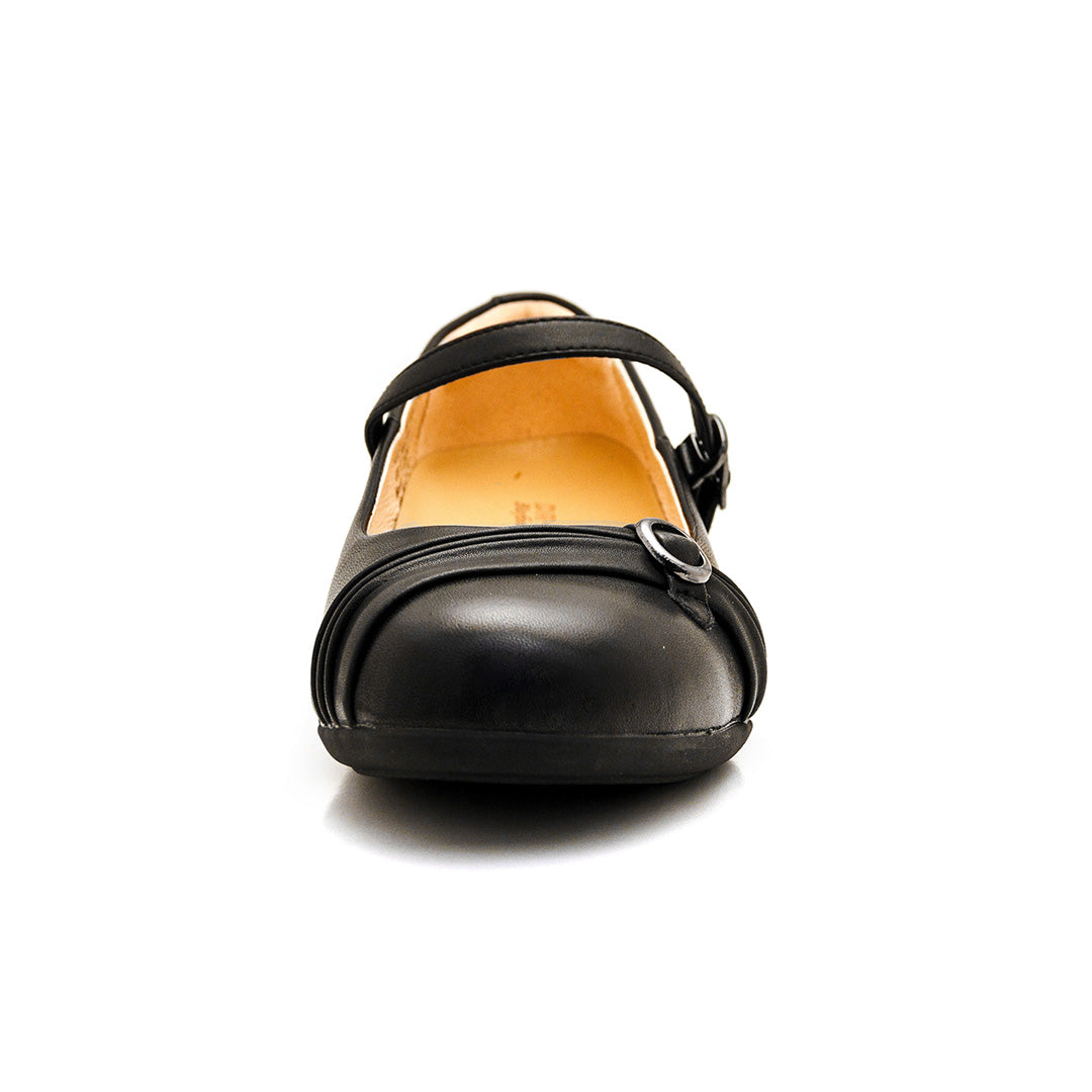 Dr. Kong School Shoes with Strap (Black) P32839E3