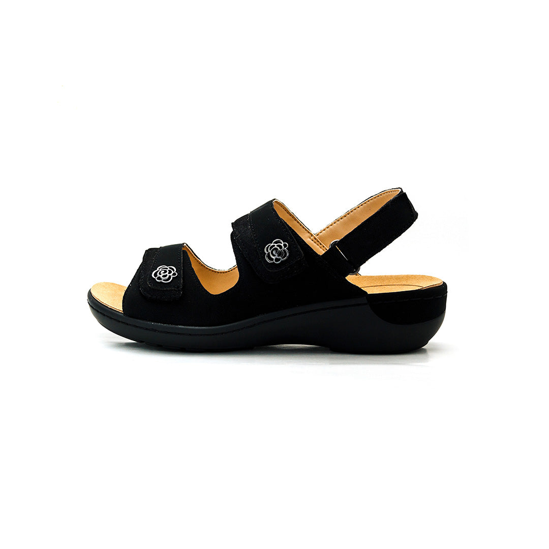 Dr. Kong Adjustable Strap Sandals (Black) S8000239e