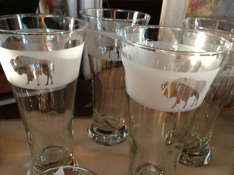 Buffalo Pilsner Glasses