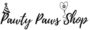 Pawty Paws Shop Logo Header