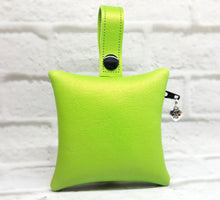 Load image into Gallery viewer, Personalized Dog Poop Bag Holder - Lime Green