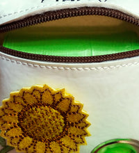 Load image into Gallery viewer, Sunflower Dog Poop Bag Holder - Personalized