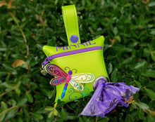 Load image into Gallery viewer, Dragonfly Dog Waste Bag Dispenser