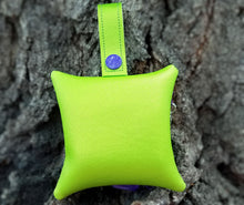 Load image into Gallery viewer, Dragonfly Poop Bag Holder - Lime