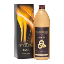 Load image into Gallery viewer, COCOCHOCO Gold Brazilian Keratin 1000 ml/1 liter + Clarifying Shampoo 400 ml