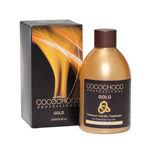 COCOCHOCO Gold Brazilian Keratin 250 ml + Clarifying Shampoo 50 ml
