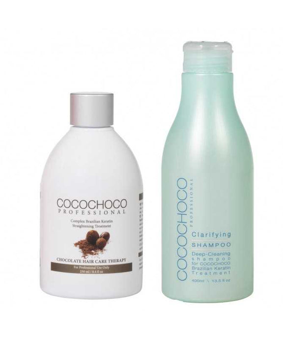 COCOCHOCO Original Brazilian Keratin 250 ml + Clarifying Shampoo 400 ml