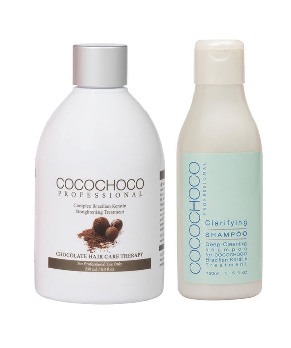 COCOCHOCO Original Brazilian Keratin 250 ml + Clarifying Shampoo 150 ml