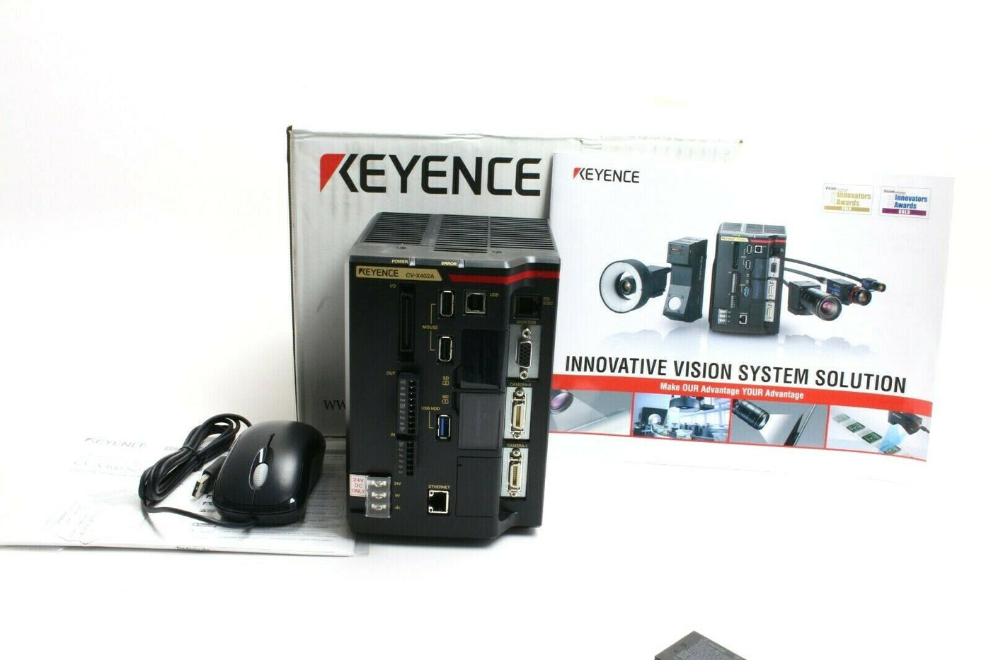 Photo of Keyence CV-X402A High Speed Machine Vision System Controller