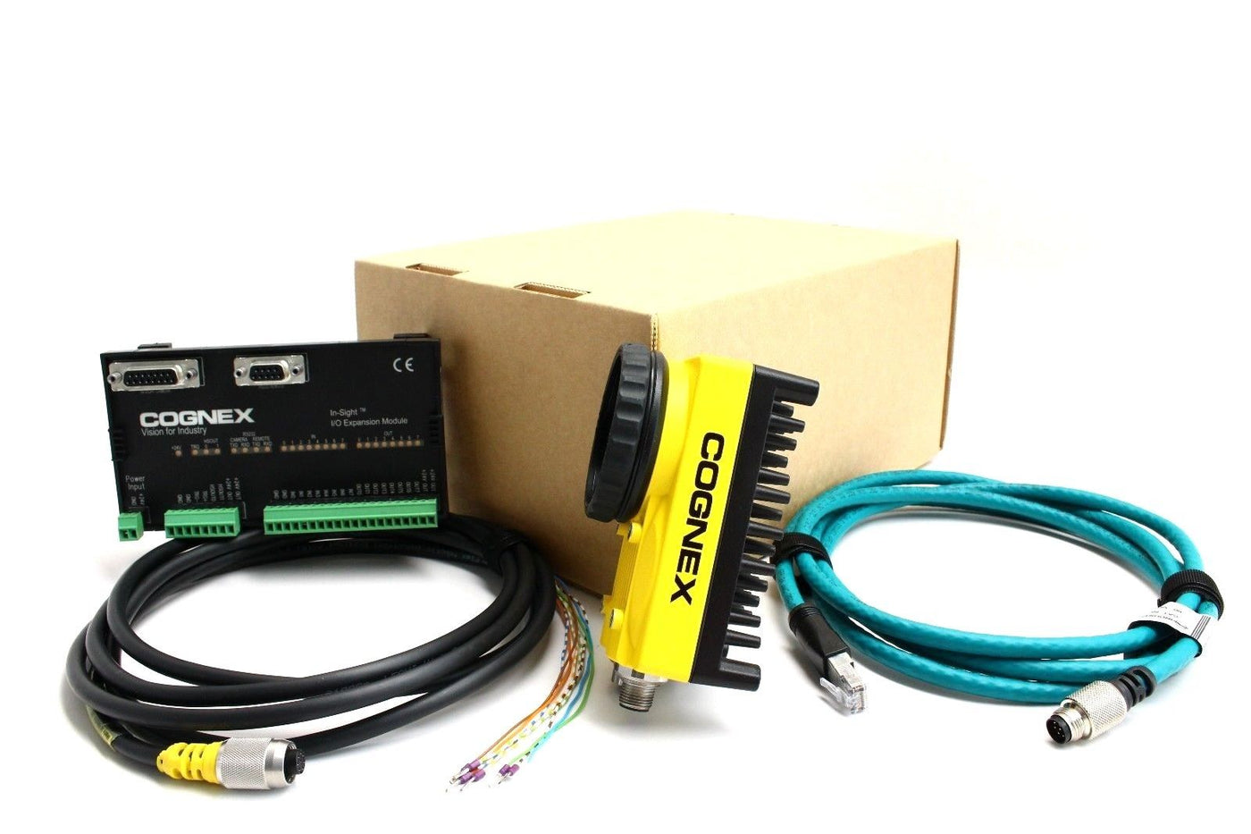 Photo of Cognex In-Sight 5605 Patmax Enabled Camera I/O Kit  IS5605-11