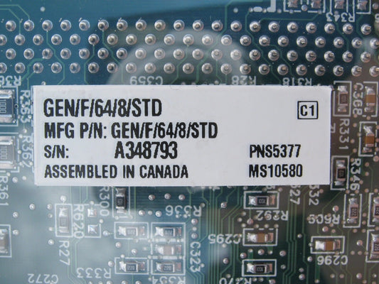 Photo of New Matrox Genesis GEN/F/64/8/STD Frame Grabber