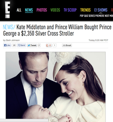 Prince George Christening Eonline