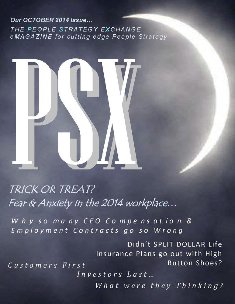 PSX: The Exchange for People Strategy eMagazine –October 2014 Issue
