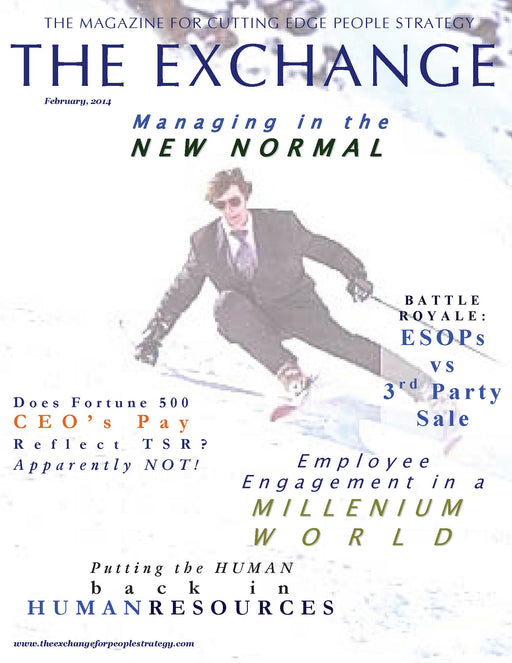 PSX: The Exchange for People Strategy eMagazine - February 2014 Issue