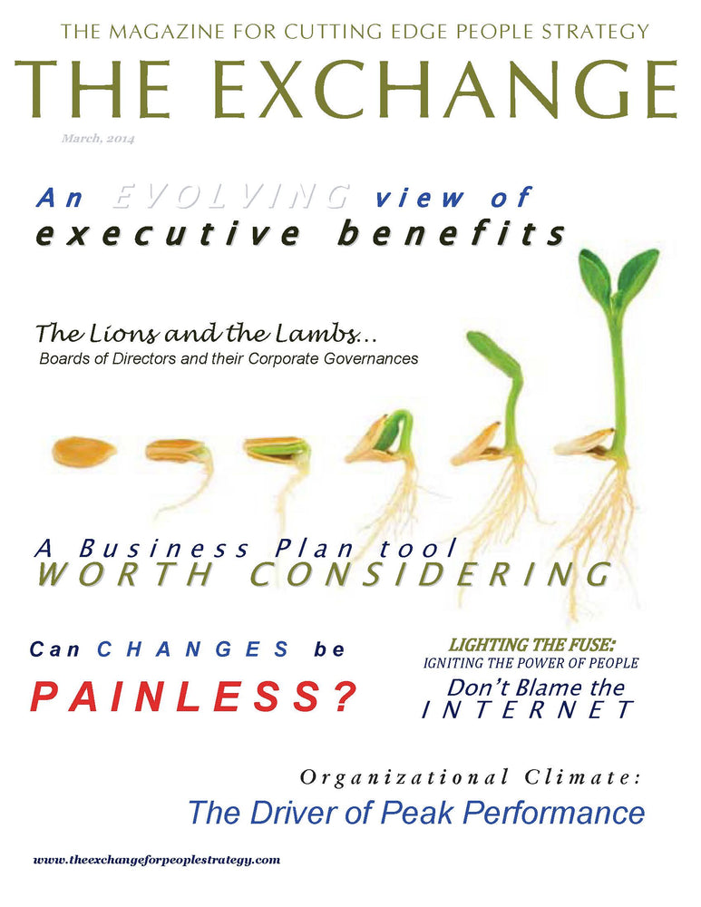 PSX: The Exchange for People Strategy eMagazine - March 2014 Issue