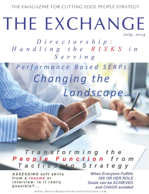 PSX: The Exchange for People Strategy eMagazine – July 2014 Issue