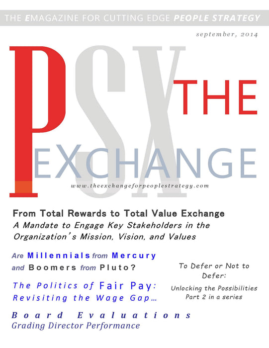 PSX: The Exchange for People Strategy eMagazine – September 2014 Issue