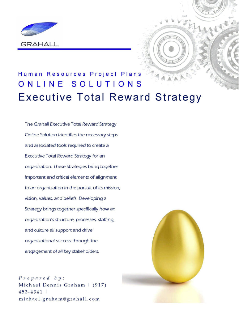 Online Solution for Executive Total Reward Strategy