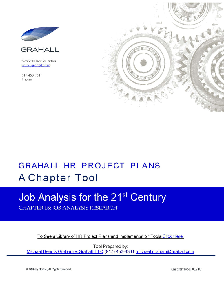 Job Analysis Research
