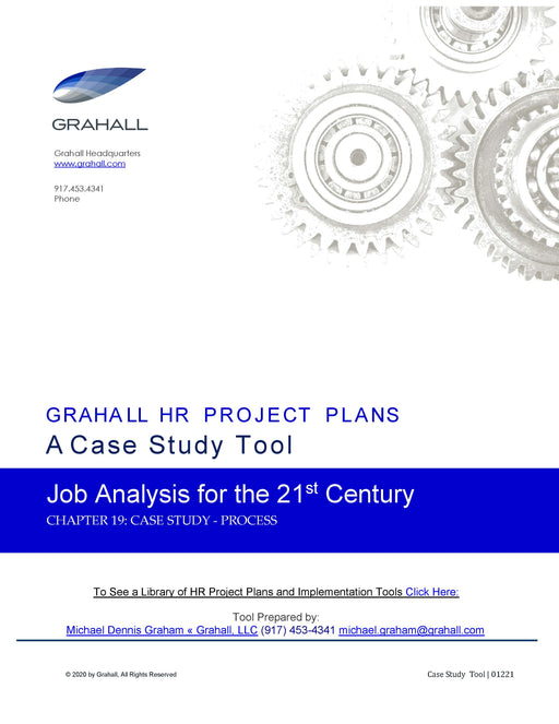 Job Analysis Case Study – Process