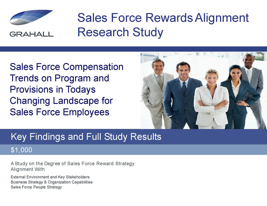 Sales Force Rewards Alignment Research Study