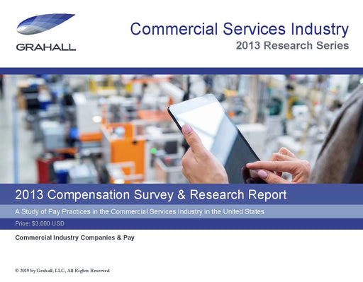 A Study of Pay Practices in the Commercial Services Industry in the United States