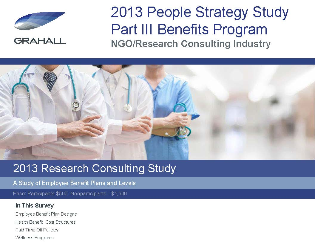 Research Consulting Industry Study Part III: Benefit Plans and Programs