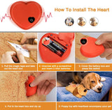 Pet with heartbeat