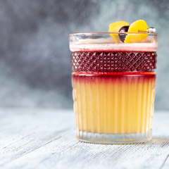 New York Sours with vermouth