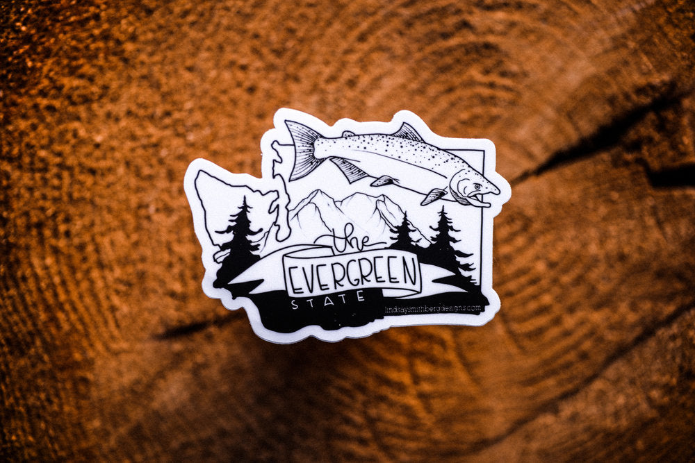 The Evergreen State — STICKER