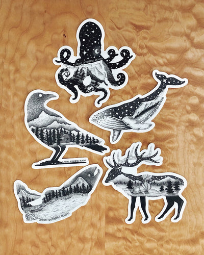 Wildlife Series - STICKERS